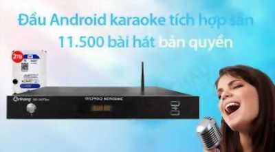 Đầu Arirang AK-36 Plus karaoke 5 số + android Thủ Đức