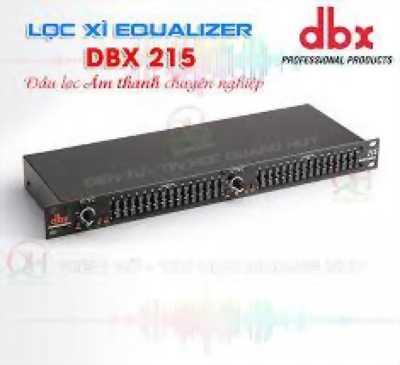 Lọc nhạc Equalizer DBX 215 khuyến mãi bộ dây âm thanh Canon