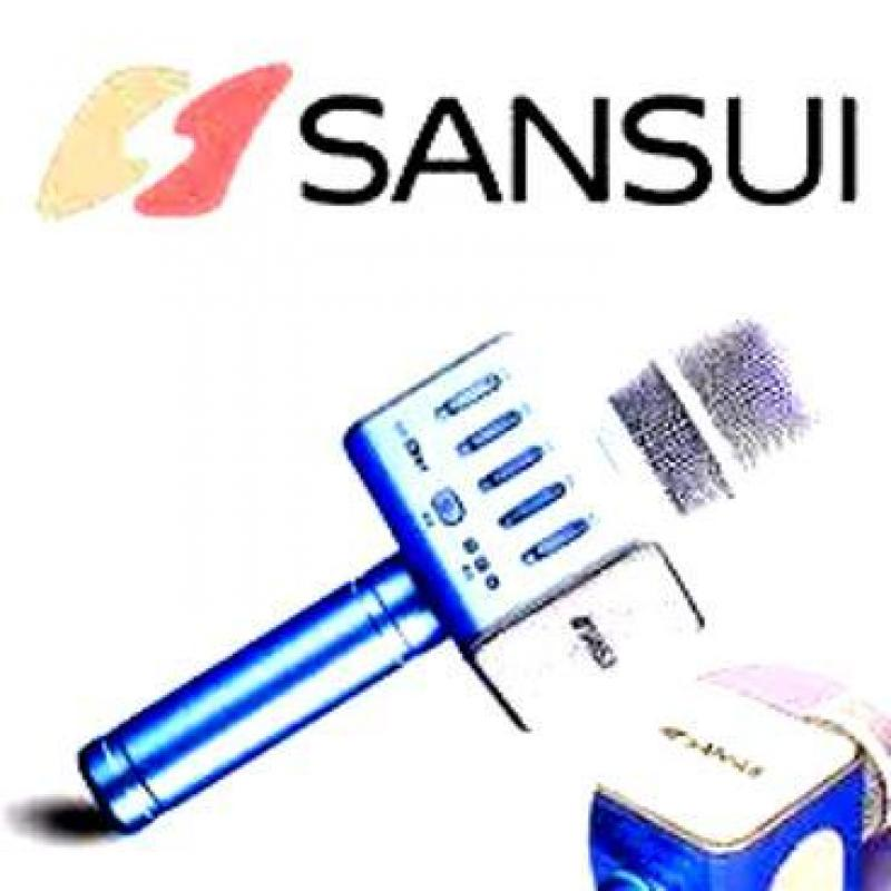 Micro bluetooth kèm loa Sansui K66 thương hiệu Đến từ Nhật bản