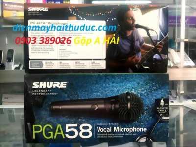 Micro có dây USA Shure PGA58-QTR chính hàng Mỹ 100%
