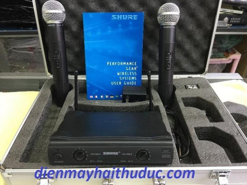 Micro không dây Shure SM58 bộ 2 micro giá rẻ