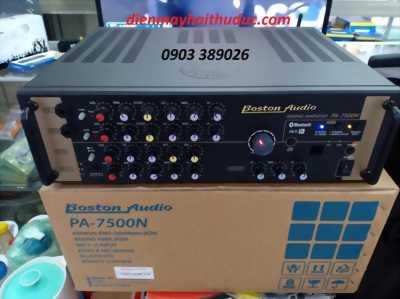 Amply Boston Audio PA-7500N mẫu mới 2019 có bluetooth,remote,600W