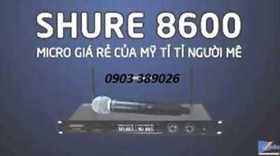 Micro Không dây Shure U8600 giá tầm trung, hát rất hay