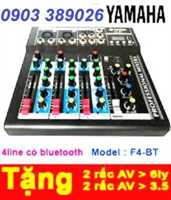 Mixer bàn mini Yamaha Bluetooth Yamaha F4-USB giá 1290K
