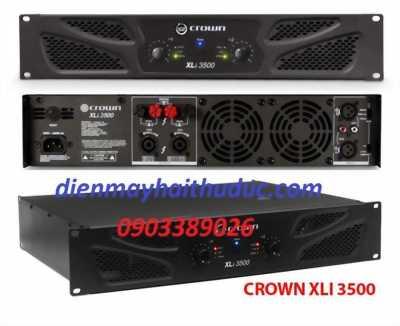 Cục đẩy công suất Crow XLi-3500 hàng mới nhập 100%