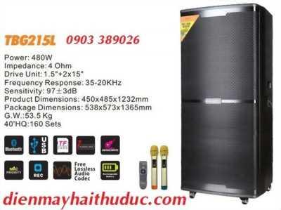 Loa kéo A/D/S TBG215 bass 40 x 2, công suất 480W-800W