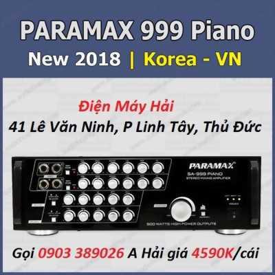 Ampli Paramax SA-999 piano NEW Giảm giá đến 18%