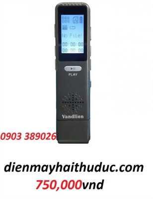 Máy ghi âm giá rẻ Vandlion V25 ghi đến 56 giờ