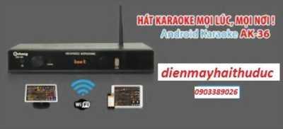 Đầu karaoke Arirang AK-36 PLUS có Android TV bán hạ giá