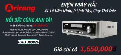 Đầu Arirang AR-3600 HD khuyến mãi 2 micro AR-3.6C bán hạ giá