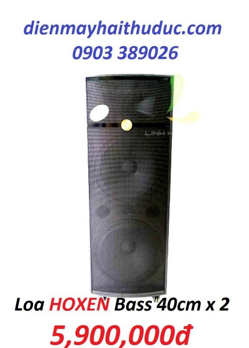 Loa kéo 2 bass 40cm Hoxen L60H, công suất khủng 800W
