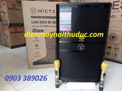 Loa kéo Mictzon  MZ12-01 tích hợp sẵn 20 ngàn bài karaoke
