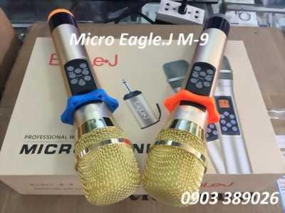 Micro dành cho loa kéo M-9 chỉnh vang chỉnh hú trên thân micro