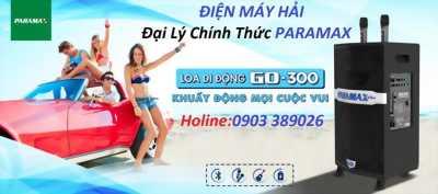 Loa kéo Paramax PRO GO 300 giá rẻ nhất tại Điện Máy Hải