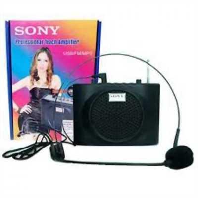 Máy trợ giảng mini Sony SN-898 hỗ trợ Bluetooth, USB, Thẻ nhớ.