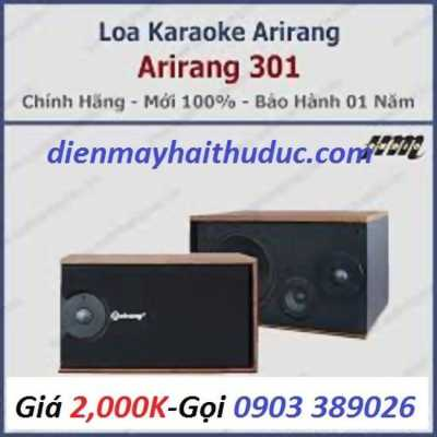 Loa Karaoke Arirang 301 công suất đến 300W