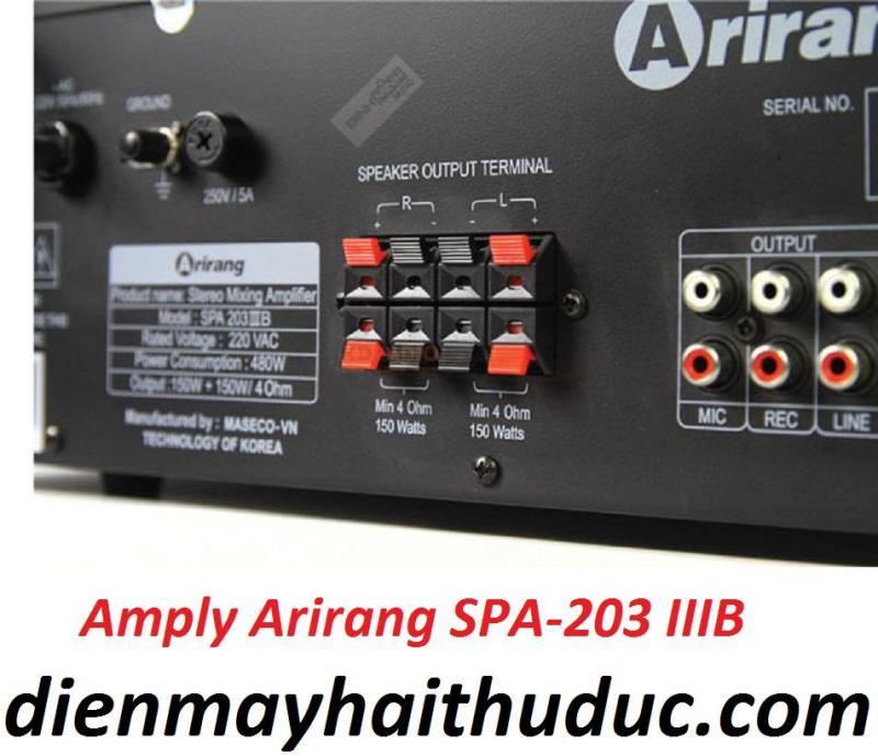 Amply Bluetooth Arirang SPA-203IIIB mẫu mới 2019