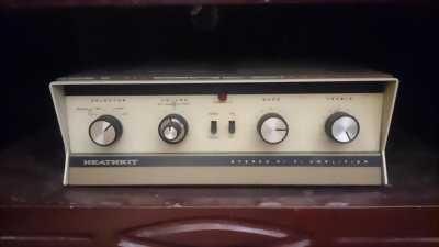 Ampli đèn cổ SANSUI 220, chạy 15 bóng zin nguyên bảng