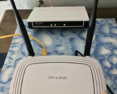 Cần bán gấp máy router wifi Tplink 841N 2 anten, phát sóng mạnh giá cả hợp lý