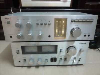 Bộ amly + tuner victor S35