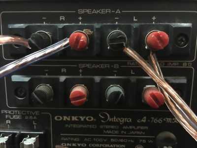 Amply ONKYO Integra A-766mkII / 50 bãi nhật