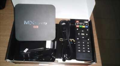 Cung cấp thiết bị Smart Tivi Box biến Tivi thường thành tivi thông minh MXQ Pro