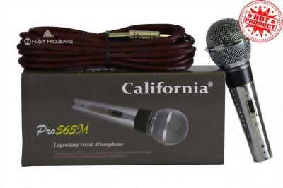 Tham khảo Micro California pro 565M chất lượng Nhật Hoàng audio