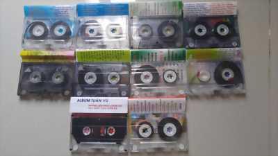 Băng cassette còn mới 98%