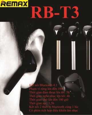 Tai Nghe Buetooth Remax Giá Cực Rẻ Tại TPHCM - RB-T3
