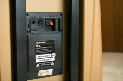 Loa Kéo Du Lịch Soundmax M6 + Micro Không Dây Chính Hãng