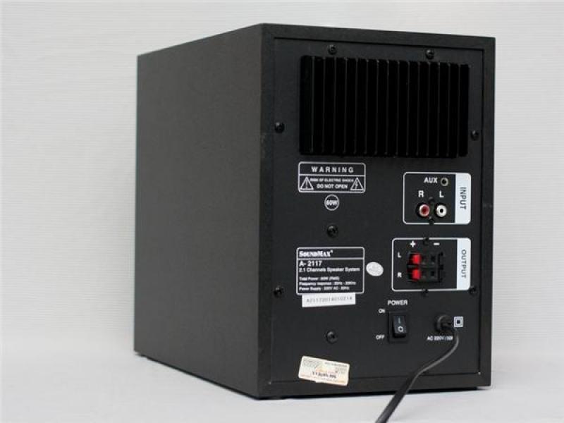 Loa vi tính Soundmax A2117 2.1 chính hãng