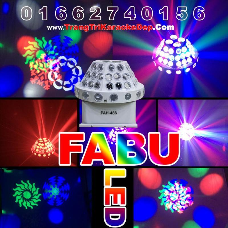 Đèn LED sân khấu Fabu 7 màu phủ tia hoành tráng cho sân khấu