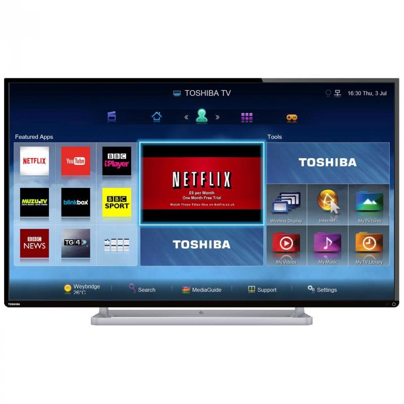 Cách kết nối internet cho tivi Toshiba và hướng dẫn khắc phục khi không kết nối mạng được