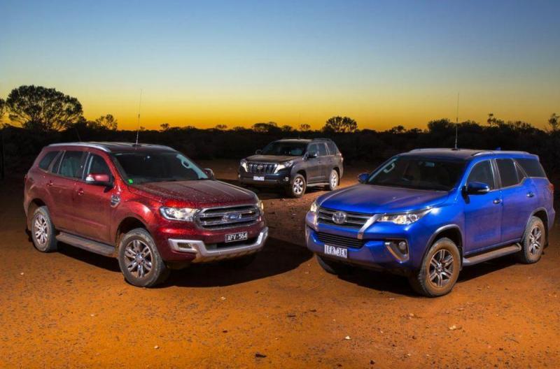 So sánh giá xe fortuner 2018 và Ford Everest