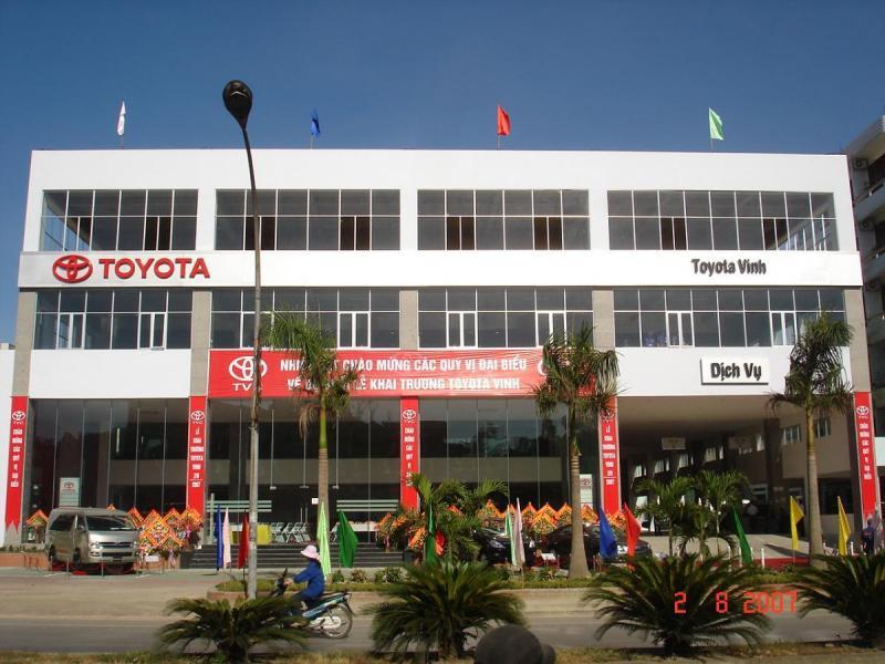 Các đại lý Toyota Vinh chính hãng được lựa chọn nhiều nhất