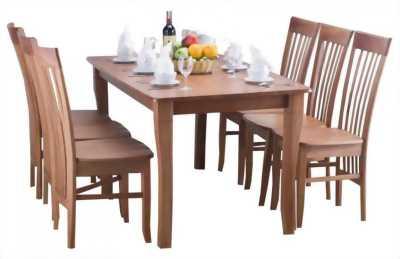 Trọn bộ bàn ăn gồm 4 ghế xoan đào 4,3tr