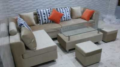 Trọn bộ sofa phòng khách giá rẻ gồm 4 món giá chỉ 8,9 triệu