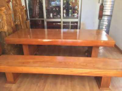 Bán bộ bàn ghế k3 mới làm xong gỗ hồng đào