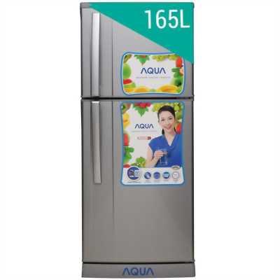 Tủ lạnh toshiba 165lit mới 85% gas lốc zin 100%