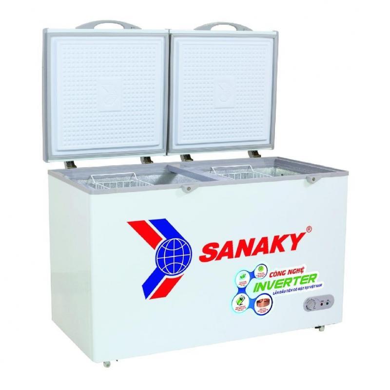 Tủ đông chính hãng Sanaky 2 ngăn tiện lợi mới 99%