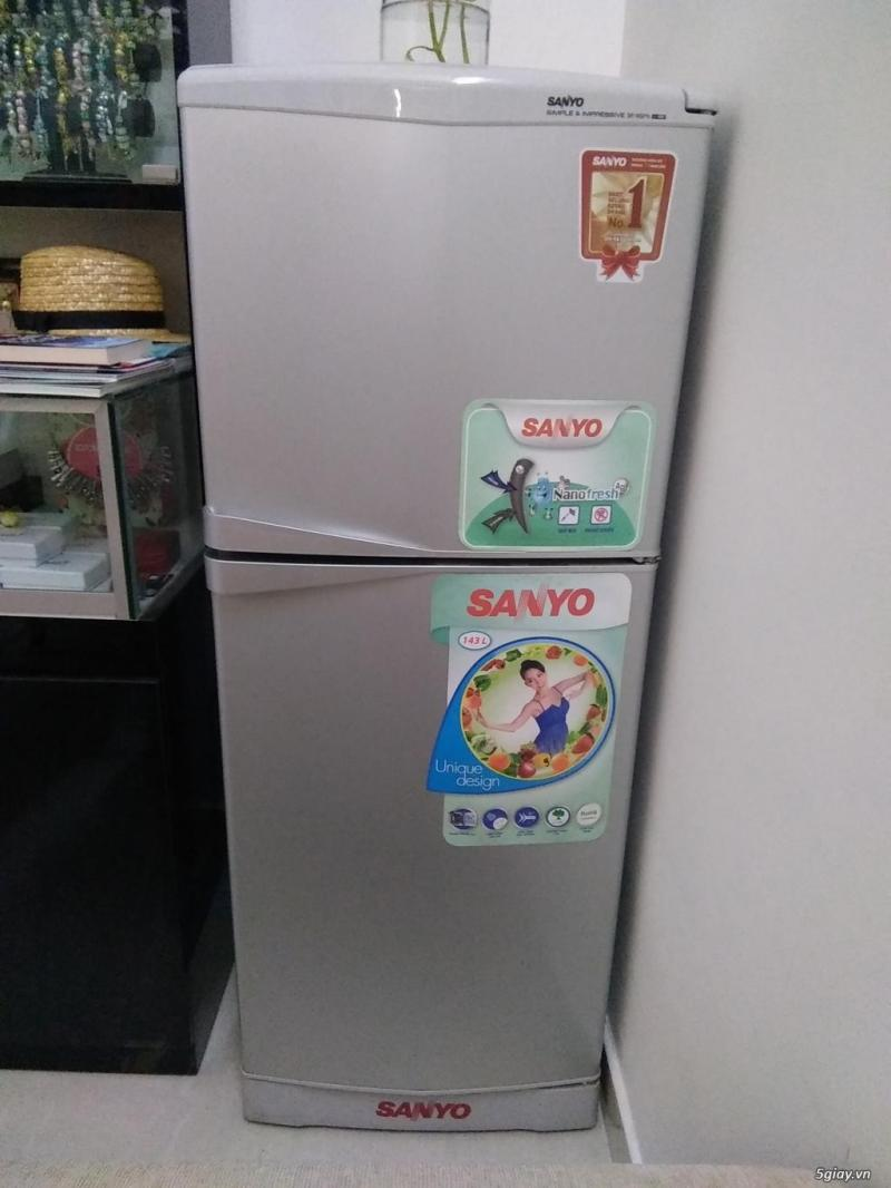 Tủ lạnh sanyo 180l giá 1.700.000