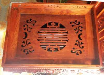 Khay trà gỗ lim