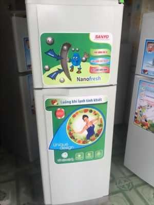 Tủ lạnh SANYO 130l xịn của nhật nhà đang sử dụng.