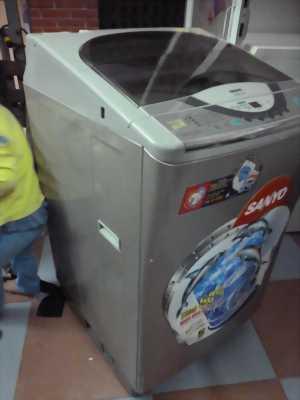 Máy giặt lồng nghiêng Sanyo. Rin