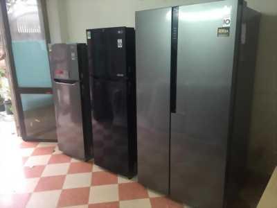 Thanh Lý Tủ lạnh Side by Side Inverter  613 lít LG B247JDS