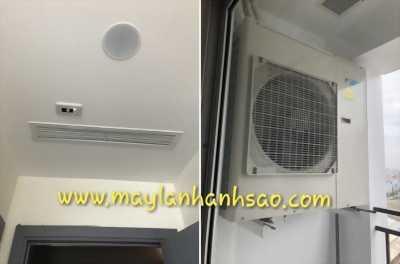 Máy lạnh giấu trần nối ống gió Daikin giá thấp nhất thị trường
