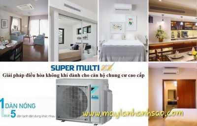Điều hòa - máy lạnh Multi Daikin chính hãng giá rẻ cạnh tranh nhất thị trường