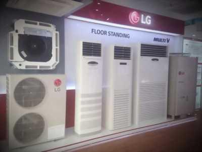 Bán máy lạnh tủ đứng LG inverter 5hp mới nhất