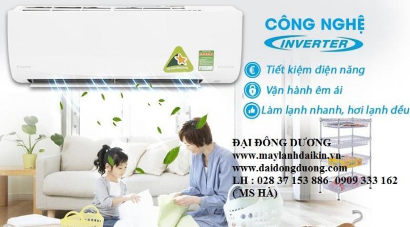Máy lạnh treo tường Daikin ftc60nv1v/rc60nv1v- 2.5hp- gas r32- Dòng tiêu chuẩn Daikin