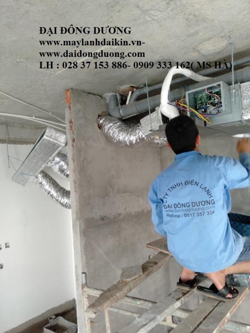 Máy lạnh giấu trần Daikin FDR08NY1/RUR08NY1 gas R410a-8HP- Miễn phí vận chuyển HCM